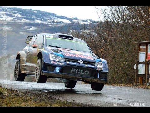 WRC Rallye Monte Carlo 2015 Shakedown