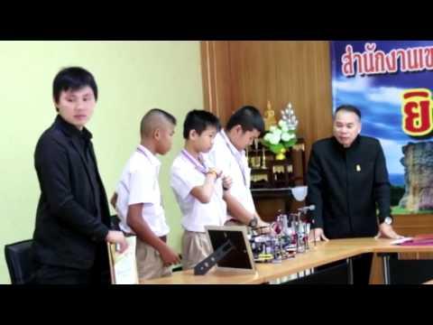 ครอบครัวข่าวเด็ก ตอน นักเรียน ร ร ชัยภูมิภักดีชุมพล แชมป์หุ่นยนต์ระดับชาติ 22 กุมภาพันธ์  2560
