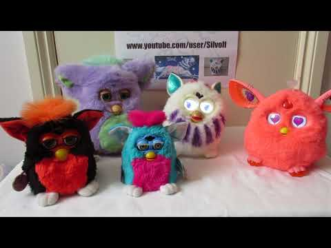 Furbies From The 90s, 2005, 2012 And Furby Connect