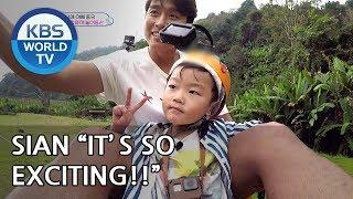 Video Brave little Sian conquered Jungle Coaster [The Return of Superman/2019.02.24] MP3, 3GP, MP4, WEBM, AVI, FLV Juni 2019