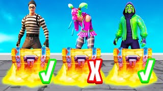 Open The RIGHT MYSTERY CHEST To WIN! (Fortnite)