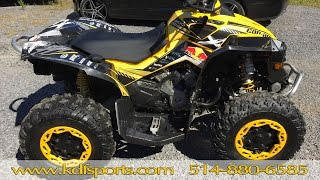 10. Can Am Renegade 800 XC 2010