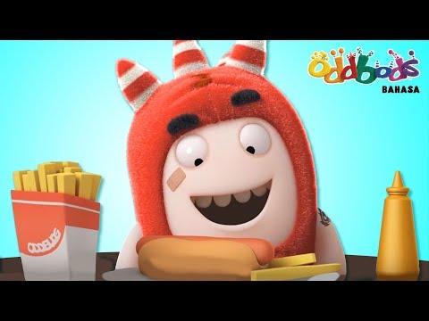 Cartoon | Oddbods - Pesta Makan | Kartun Untuk Anak
