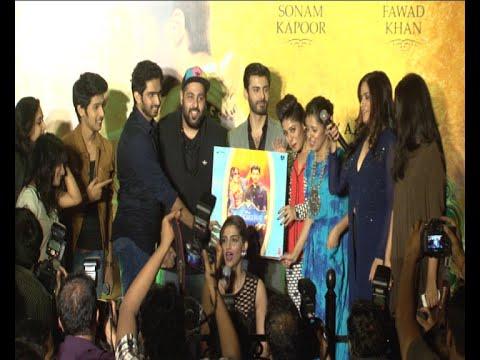 Music Launch Of Movie Khoobsurat WIth Sonam Kapoor, Fawad Khan, Reha Kapoor