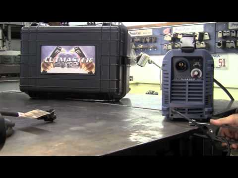 THERMAL DYNAMICS CUTMASTER 42 SETUP - REVIEW - TESTING THERMADYNE THERMAL ARC PLASMA CUTTER WELDER