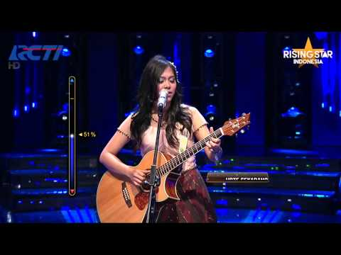 "Ghaitsa Kenang ""Cemburu"" Dewa 19 - Rising Star Indonesia Best Of 6 Eps 22"