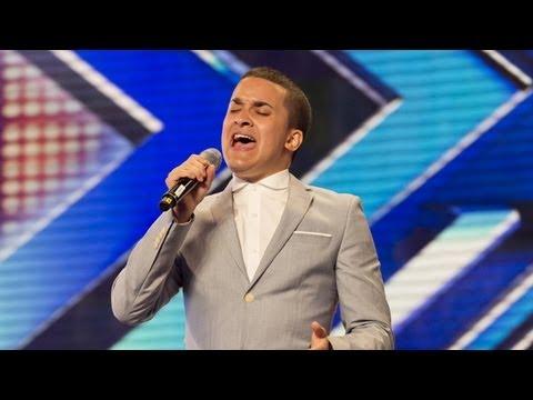 Jahmene Douglas' audition - Etta James' At Last- The X Factor UK 2012 (видео)