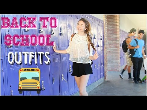 school - I hope you enjoyed seeing some of my fav outfits for back to school! Let me know in the comments which outfit you liked the best! Give this video a thumbs up if you want more of these videos...
