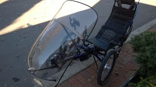 Aldgate Australia  city pictures gallery : Hahndorf South Australia, HP Velotechnik Streamer Test Ride - Recumbent Trike Ride Tour