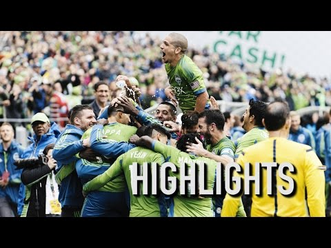 Video: Highlights: Seattle Sounders FC defeat LA Galaxy to Win Supporters' Shield