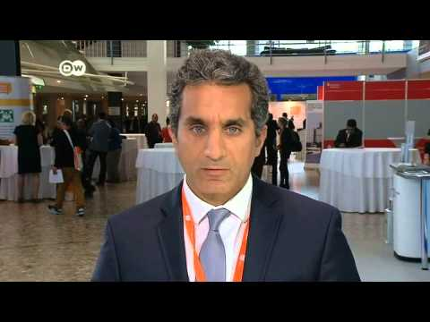 باسم يوسف يتكتم على تفاصيل مشروعه الجديد