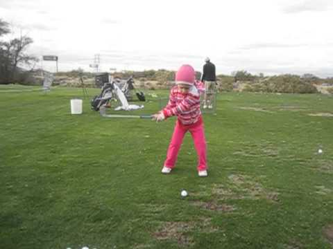 4 Year Old Junior Golf Prodigy Hannah Pearson