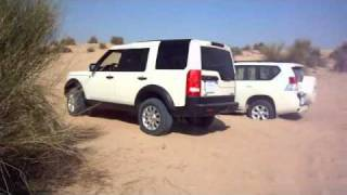 Land Rover Discovery 3 LR3 Vs New Land Cruiser Prado 4.0L V6