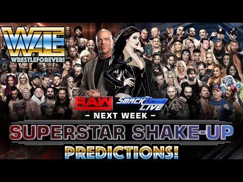WWE Superstar Shake-up 2018 - WWE 2018 Draft Predictions and Rumors
