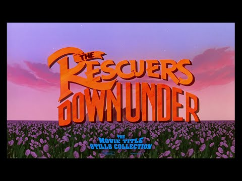The Rescuers Down Under (1990) title sequence