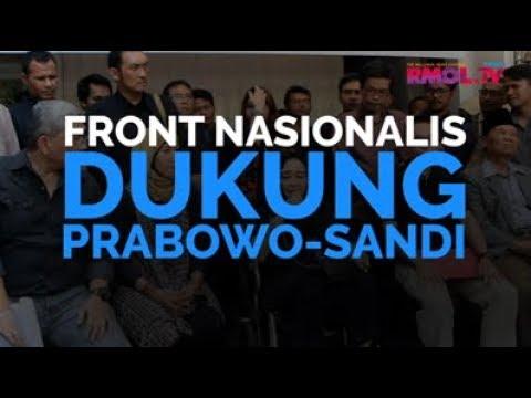 Front Nasionalis Dukung Prabowo-Sandi