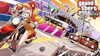 Silent Brian Races Friends in Mario Kart GTA DLC!