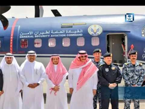 #فيديو :: #ولي_العهد يدشن أحدث طائرات C-295 تابعة لطيران الأمن