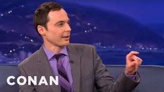 """Jim Parsons Will Never, Ever Forget """"The Elements"""" Song - CONAN on TBS"""