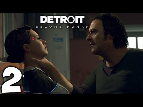 Detroit: Become Human. Прохождение. Часть 2 (Папа наркоман)
