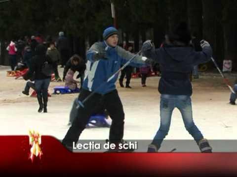 Lecţia de schi