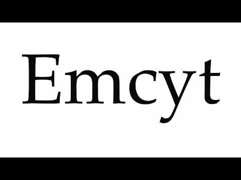 How to Pronounce Emcyt