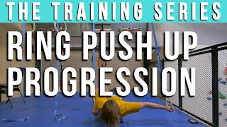 Ring Push Up Tutorial: A 5 Step Progression To Get Strong by Verticalife