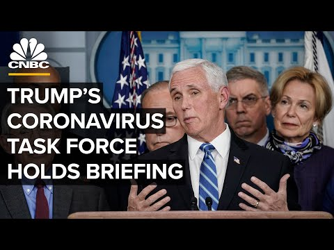 White House coronavirus task force holds first briefing in months — 6/26/2020