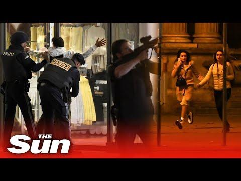 'Seven dead' in shooting rampage terror attack near synagogue in Vienna