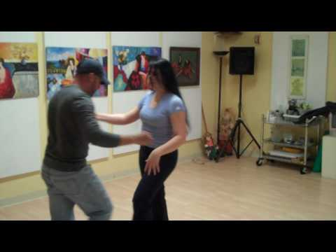Footworks Studio. Advanced Salsa, May 18