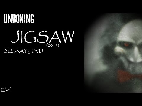 JIGSAW 2017 - Blu-Ray + DVD Unboxing