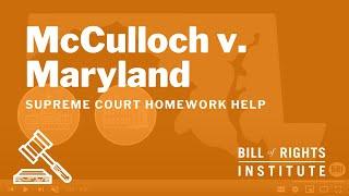 Video McCulloch v. Maryland | Homework Help from the Bill of Rights Institute MP3, 3GP, MP4, WEBM, AVI, FLV Oktober 2018
