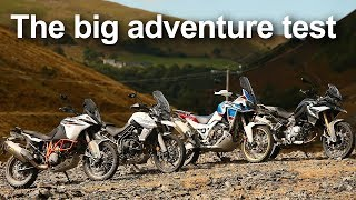 4. Adventure Bike Test 2018 (under 1100cc): KTM vs Honda vs Triumph vs BMW
