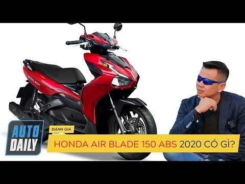 Honda Air Blade 2020 150cc phanh ABS được trang bị tiện ích thông minh gì? @ vcloz.com