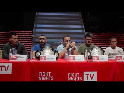 Пресс-конференция FIGHT NIGHTS GLOBAL 65. Итоги турнира
