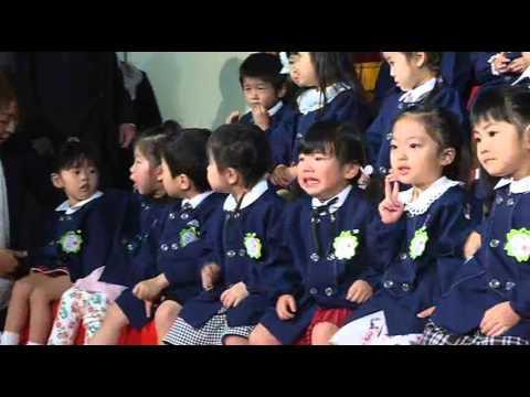 田上幼稚園 平成27年度 入園式1