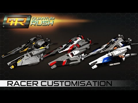 Quantum Rush — Racer Customisation