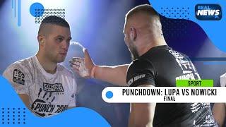 Punch Down gala: Finał, Lupa vs Nowicki – POTĘŻNE uderzenie Lupy