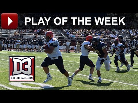 D3football.com Play of the Week: Gettysburg's Big Man Touchdown
