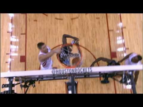 Chandler Parsons' FACIAL dunk On Victor Oladipo
