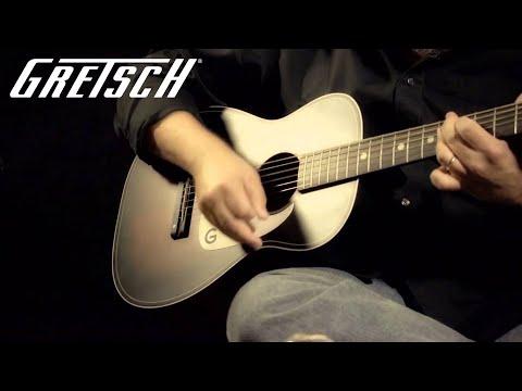 "Gretsch® G9500 ""Jim Dandy™"" 24″ Flat Top Acoustic Guitar"