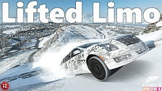 Forza Horizon 4: LIFTED, 1,000+ HP Cadillac Limo vs OFF-ROADING CHALLENGE