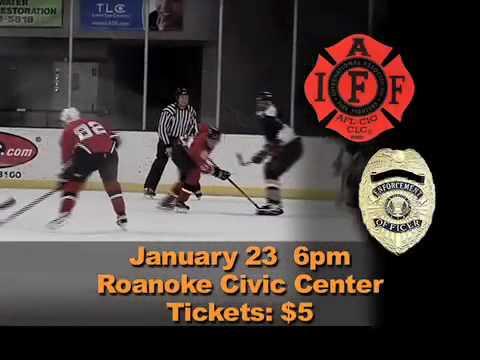 Guns and Hoses Hockey of Roanoke - WDBJ Promo