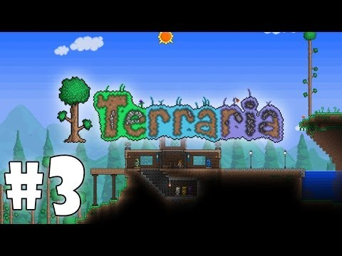 Играем в Terraria #3 - Исследование биомов