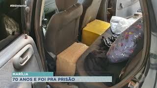 Idoso de 70 anos é preso por suspeita de tráfico de drogas em Marília