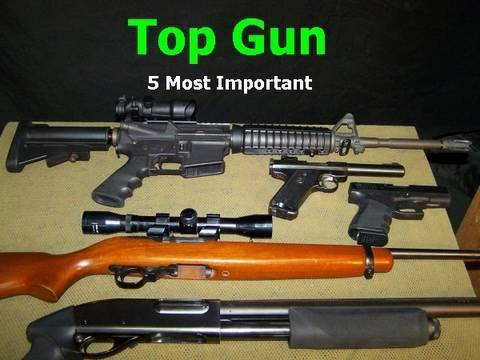 Top Gun  5 Most Important Personal Firearms