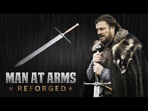 Blacksmiths Recreate Ned Stark s Sword from Game of