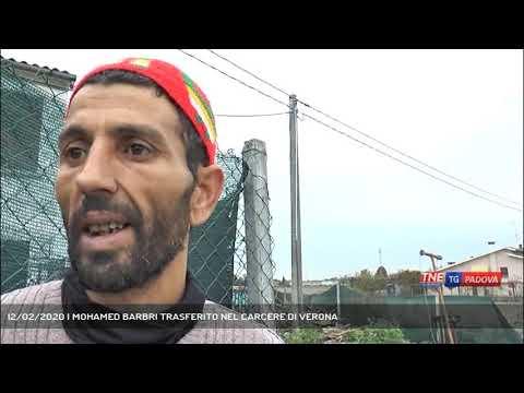 12/02/2020 | MOHAMED BARBRI TRASFERITO NEL CARCERE DI VERONA