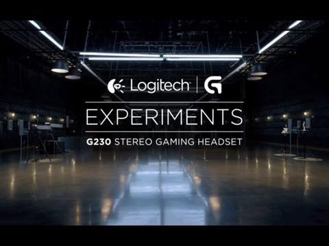 Logitech G230 Gaming Stereo Headset - Black+Red