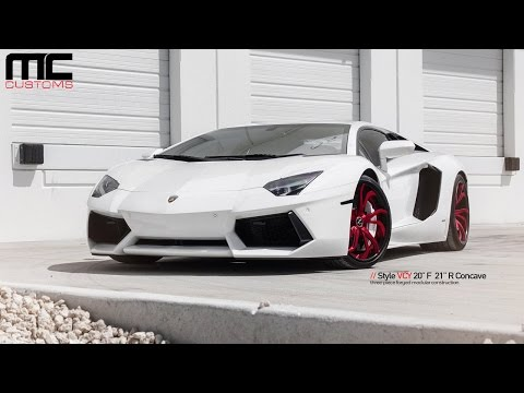 MC Customs | Lamborghini Aventador · Vellano Wheels